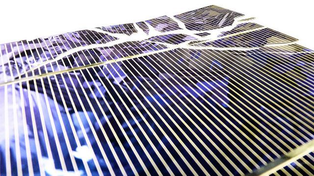 silicon on solar cell